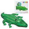 Плот надувной детский в виде морского животного для купания INTEX (лебедь; скат; крокодил), фото 3