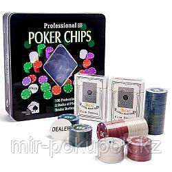 Набор для покера POKER CHIPS, Алматы