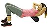 Ролик для спины Starwoodsports Массажный  60 см , Алматы, фото 4