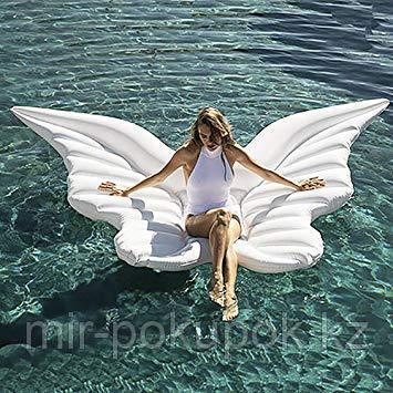 Бабочка Белая надувная матрас для плавания 250*240 см, Алматы