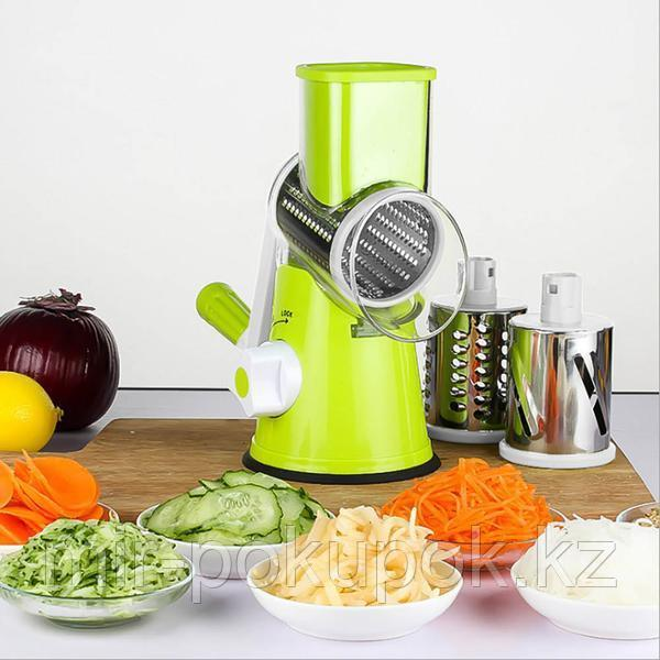 Ручная овощерезка мультислайсер Kitchen Master с 3 видами терок