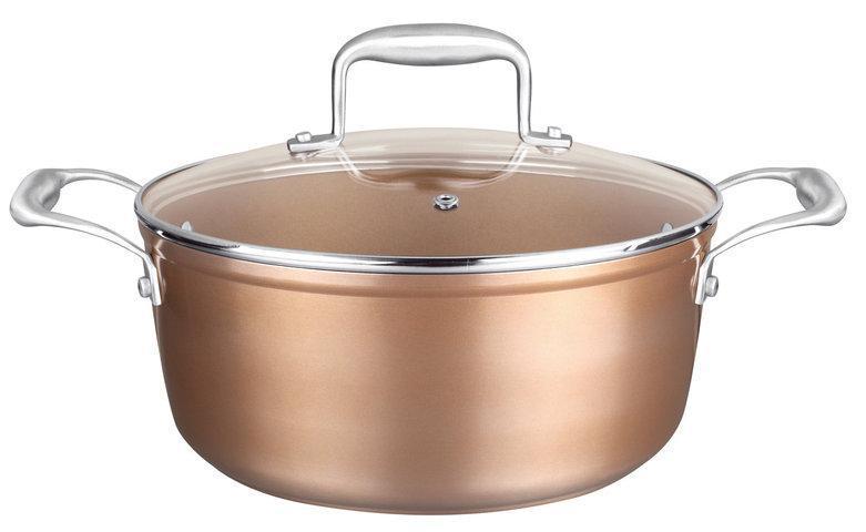 Кастрюля Nice Cooker Gold Series 24x10,5 см 4,0 л