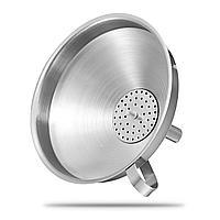 Воронка с фильтром 11см нержавеющая сталь