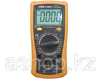 Мультиметр цифровой VICTOR VC890C+, Измерение: , U+, U~, I+, I~, R, C, t°, PN переход, Прозвонка