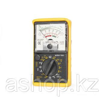 Мультиметр стрелочный VICTOR 7001, Измерение: , U+, U~, I+, R, Тест батареек