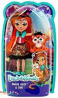 Enchantimals Кукла Танзи тигр с питомцем