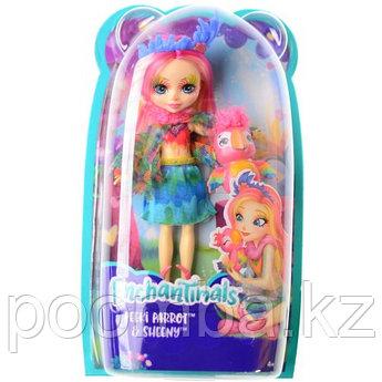 "Enchantimals Кукла ""Энчантималс"" с питомцем - Пикки Какаду, 15 см"