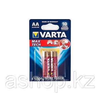 Батарейка VARTA LR6-BP2DG Max tech Mignon 1,5 В, Упакова: Блистер 2 шт., Аналоги: AA, Тип батареи: Щелочная (А