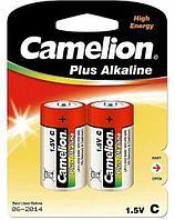 Батарейка Camelion LR14-BP2 1,5 В, Упакова: Блистер 2 шт., Аналоги: LR14\14A\C\А343, Тип батареи: Щелочная (Ал