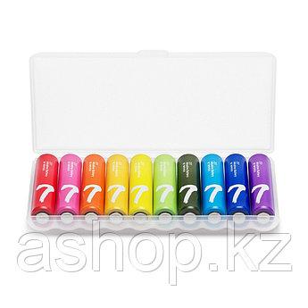 Батарейка Xiaomi NQD4000RT Rainbow 7 AAA 1,2 В, Упакова: Коробка 10 шт., Аналоги: LR6\15A\AA\А316, Тип батареи