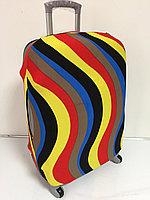 Чехол на средний чемодан. Неопрен.Высота 63 см, длина 39 см, ширина 24 см., фото 1