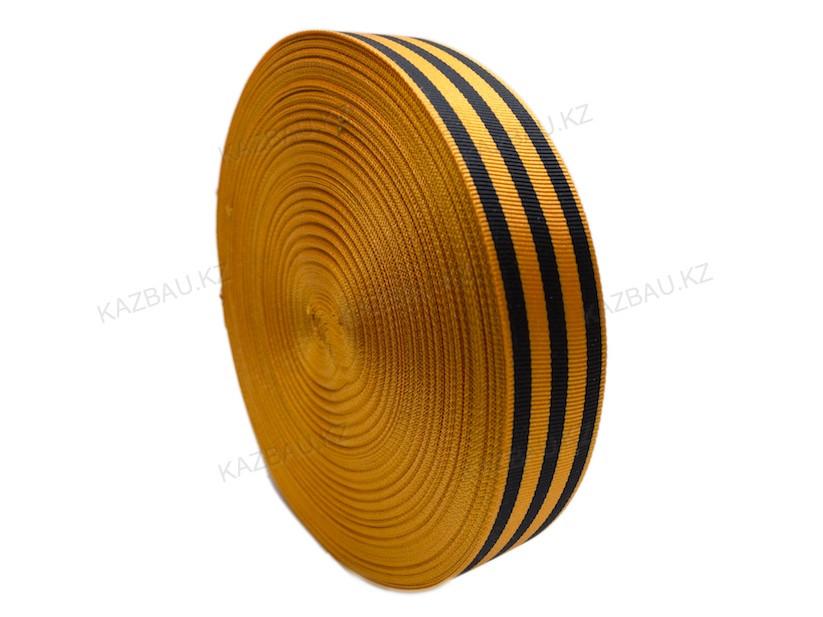 Георгиевская лента   Рулон Ширина 3 СМ длина 100 метров - фото 2
