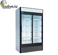 Шкаф холодильный среднетемпературный КАПРИ 1,12СК (стеклянные двери, купе, канапе) (1195х710х2030мм, 6,5кВт/ч,