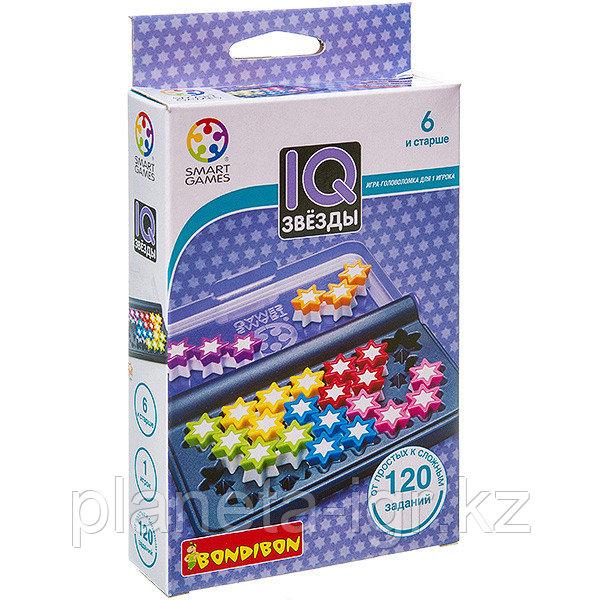 Логическая игра BONDIBON IQ-Звёзды, арт. SG 411 RU.