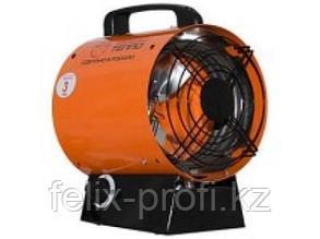 """Тепловентилятор ТТ3Т """"Энтузиаст"""" 220 V,. мощность- 3,01 кВт, произв. по воздуху не менее 500м³/ч."""