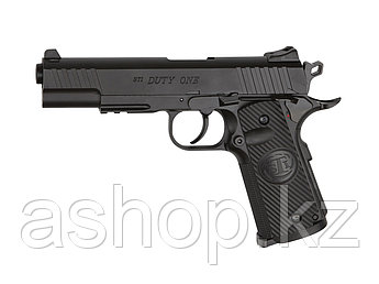 Пистолет пневматический ASG STI Duty One, Калибр: 4,5 мм (.177, BB), Дульная энергия: 2,4 Дж, Ёмкость магазина