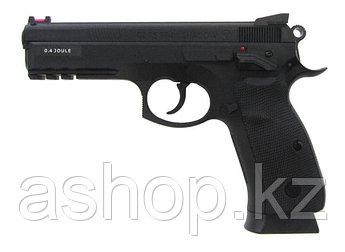 Пистолет пневматический ASG CZ 75 SP-01 Shadow, Калибр: 4,5 мм (.177, BB), Дульная энергия: 2,4 Дж, Ёмкость ма
