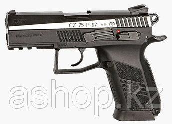 Пистолет пневматический ASG CZ 75 P-07 Duty Dual-tone, Калибр: 4,5 мм (.177, BB), Дульная энергия: 1,7-2,1 Дж,