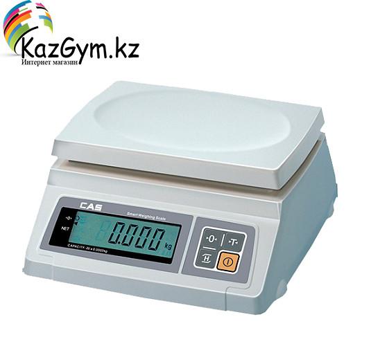 Весы электронные CAS SW-2, (260х287х119 мм, платформа 241 × 192мм, 110 ~ 240 В, 0,25В, масса 3,2)