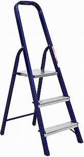 Стремянка стальная односторонняя профессиональная (Серия М) М 8403