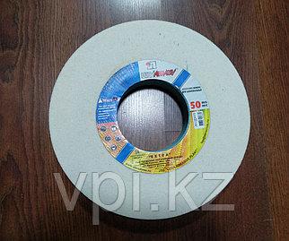 Круг абразивный шлифовальный (заточной) белый 400*40*127, 25А, F60 K-L (25H) Луга