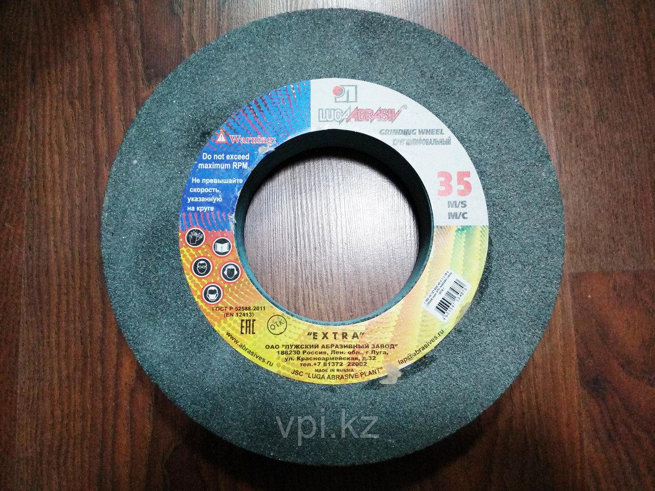Круг абразивный шлифовальный (заточной) зеленый 300*40*127,63С, F40 Луга