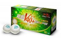 Теннисные мячи Double Fish 40+ 2 - 10 мячей V211F
