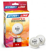 Теннисные мячи Start Line Standart 2 - 6 мячей 8332