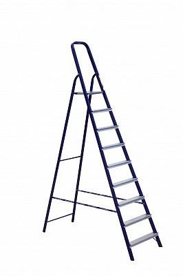 Стремянка стальная односторонняя профессиональная (Серия М) М 8409