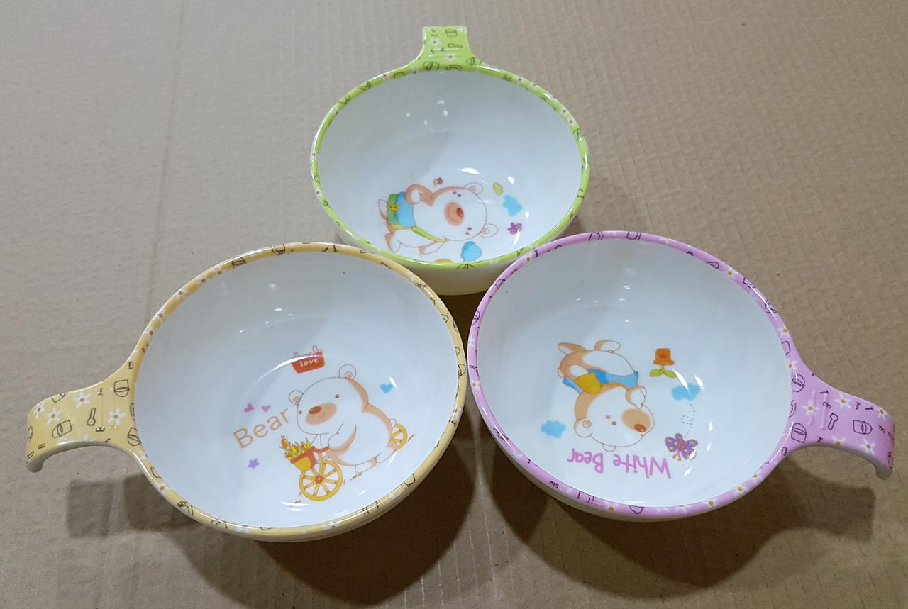 """Детские чашки """"Медведи"""""""
