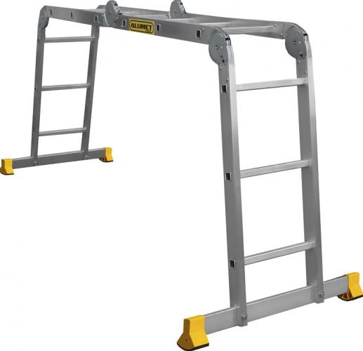 Лестница-трансформер шарнирная многоцелевая профи (Серия Т4) Т455
