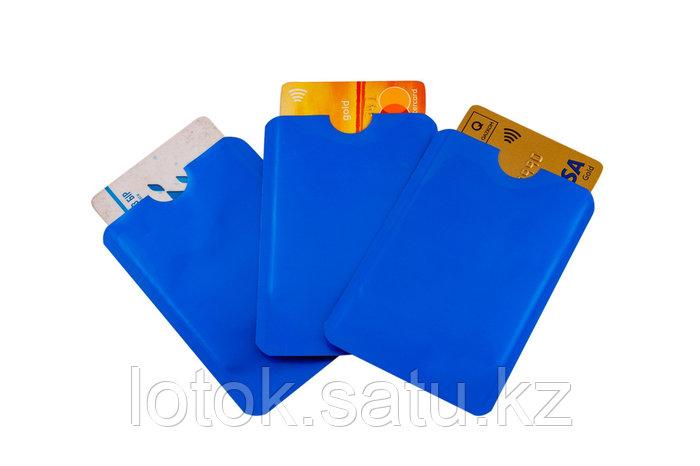 Набор чехлов для банковских карт с RFID-блокировкой (3 шт)