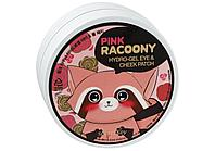 SECRET KEY Pink Racoony Hydro-Gel Eye & Cheek Patch Гидрогелевые патчи для глаз и щек