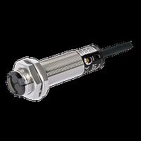 Датчик оптический диффузионный М18, NPN НО, расстояние срабатывания 100мм