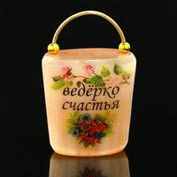 Сувенир 'Ведёрко счастья', селенит