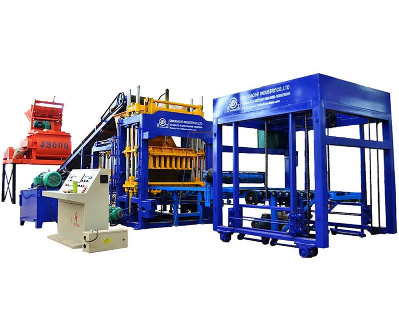 Автоматический вибропресс для производства блоковqt8-15 из Китая