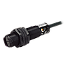 Датчик оптический диффузионный М18, NPN НО, расстояние срабатывания 400мм пластик