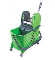 Одноведёрная тележка для уборки 1х24 литров. Турция, фото 3
