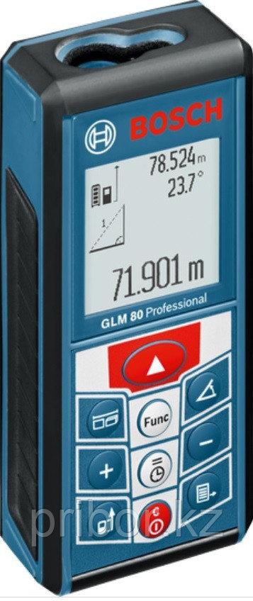 Профессиональный лазерный дальномер-уклономер (80 м) Bosch GLM 80. Внесен в реестр СИ РК.
