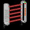 Барьерный фотодатчик на пересечение луча PNP, НО, 5 оптич. осей