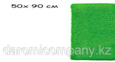 Полотенце 50х90см. Цвет Зеленый
