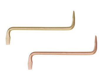 Отвертка шлицевая S-образная (изогнутая) искробезопасная 72 мм