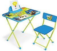 Комплект детской мебели Nika «Зверополис» (стол + пенал + стул)