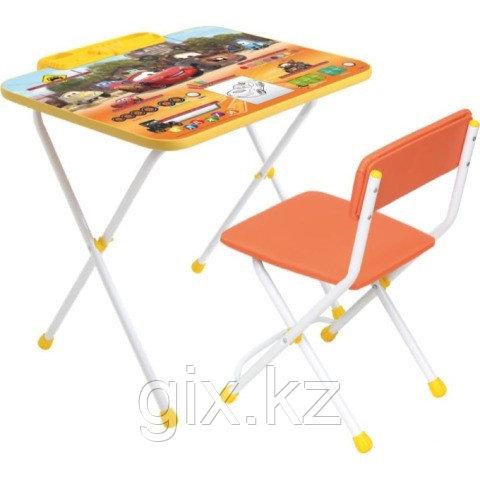 Комплект детской мебели Nika «Тачки» (стол + пенал + стул)