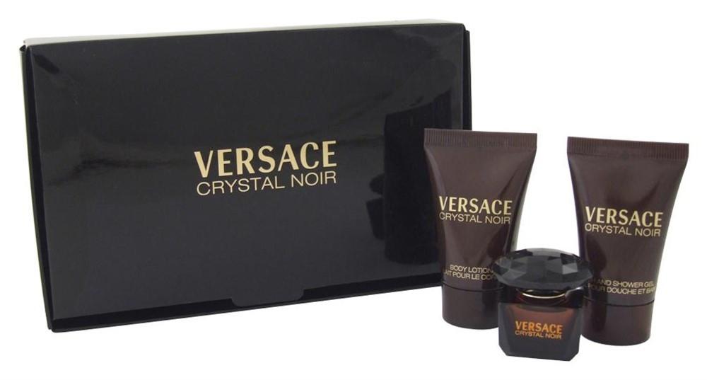 Подарочный набор Versace Crystal Noir (Женский) (Версаче Кристал нуар) Набор