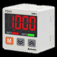 Цифровой датчик давления  0...10 бар, PNP NO, 4...20мА, для воздуха и газов