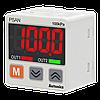 Цифровой датчик давления  0...1 бар, PNP NO, 4...20мА, для воздуха и газов