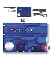 Швейцарская карта маникюрный набор Victorinox SwissCard Lite, Функционал: Универсальная, Кол-во функций: 13 в