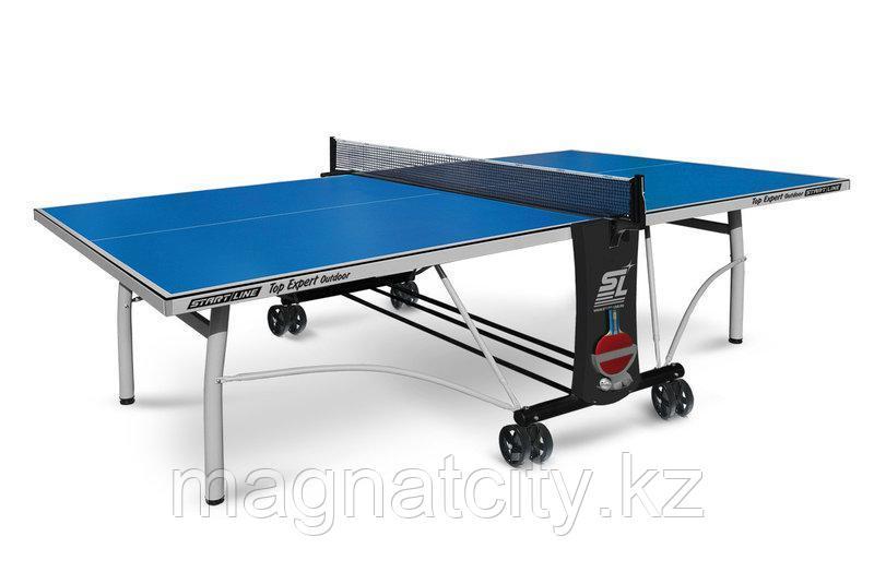 Всепогодный теннисный стол Start Line Top Expert Outdoor с сеткой