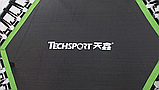 Фитнес батут для джампинга с ручкой Techsport, фото 4